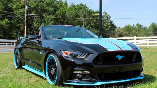 A new Richard Petty King edition Ford Mustang.