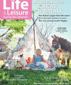 The November/December issue of NZ Life & Leisure is in stores now.