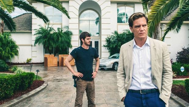 Andrew Garfield and Michael Shannon star in 99 Homes.