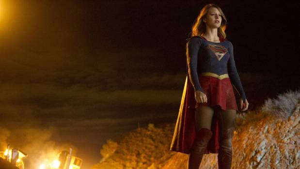 Melissa Benoist gets to explore both the goofy and the tough sides of Supergirl