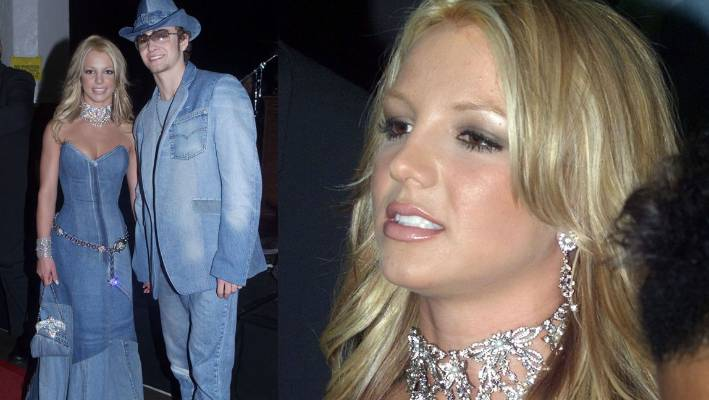 bec28eaf359 Britney Spears and Justin Timberlake s denim outfits turn 15
