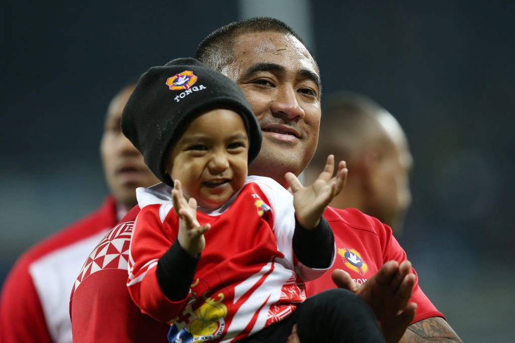 Rugby World Cup Adorable Pictures Of Players With Their Kids Stuff Co Nz