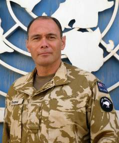 Oiroa Kaihau was deployed to Iraq in support of the United Nations Assistance Mission in Iraq (UNAMI).