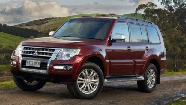 The Mitsubishi Pajero's weight and fuel consumption are a worry for Mitsubishi.