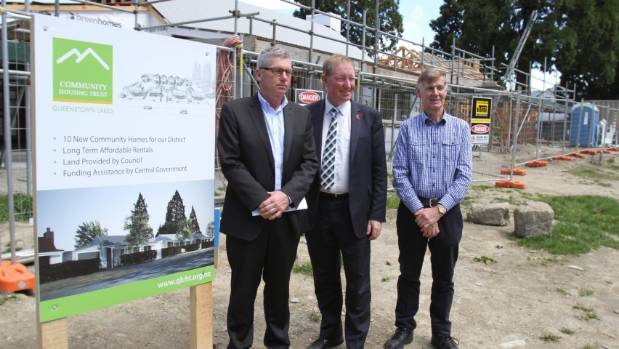 The first stage of a Queenstown Lakes Community Housing Trust development in Arrowtown, launched last year, has been ...