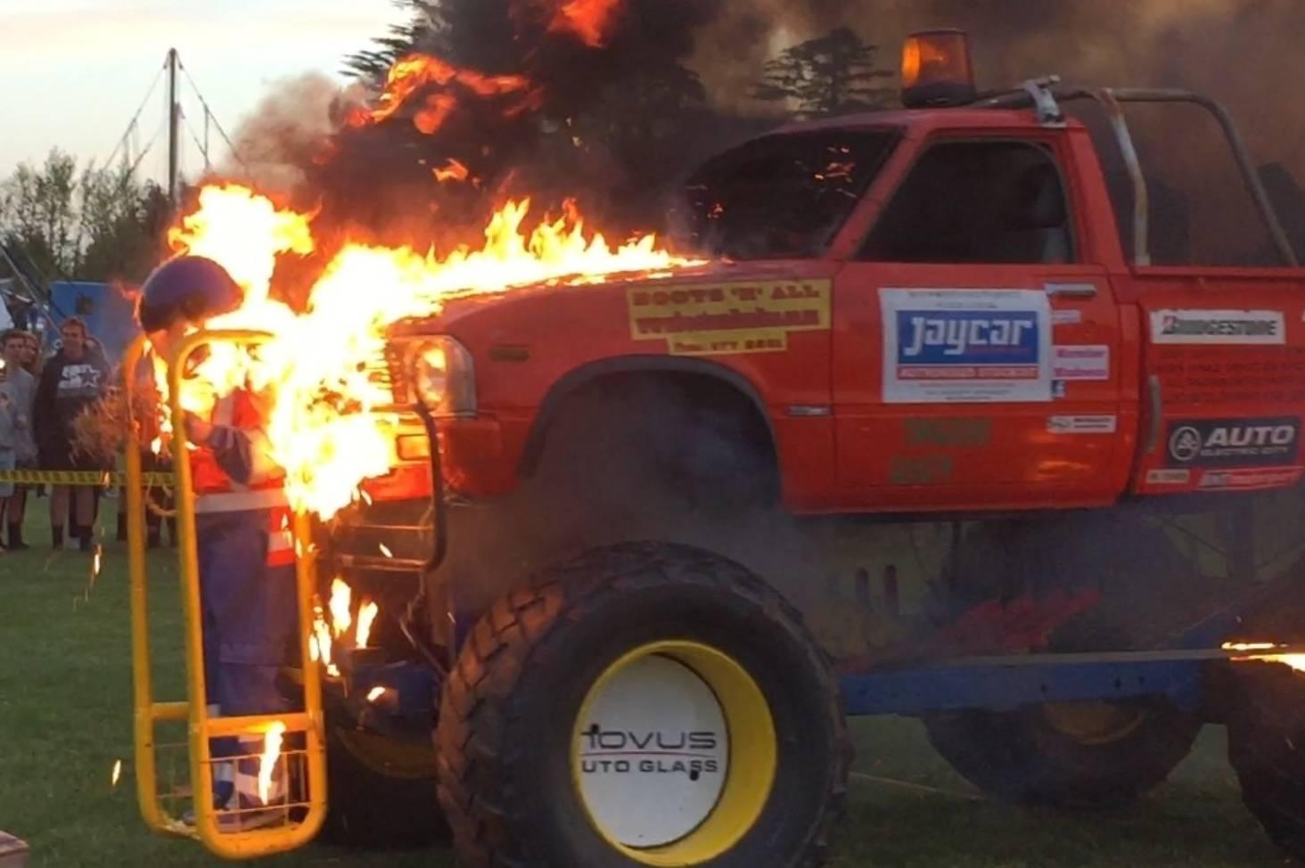 Blenheim Man S Monster Truck Madness Stuff Co Nz