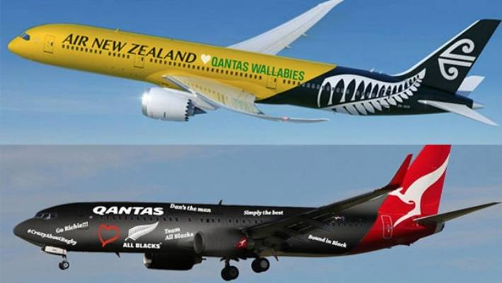 Air New Zealand And Qantas Get Into Friendly Feud Ahead Of World Cup