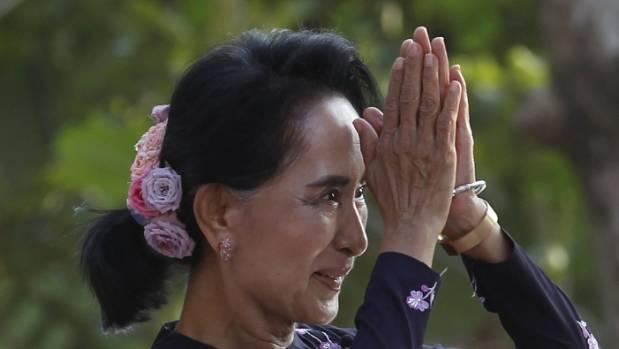 Myanmar's Suu Kyi faces pressure