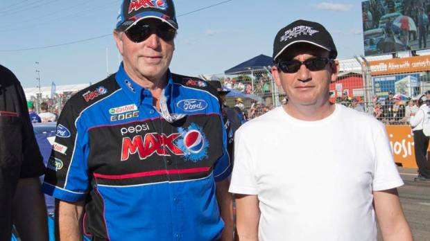 Team owner Tony Lentino, right, pictured with Ford Performance Racing co-owner and friend Rusty French, is committed to ...