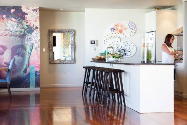 Inside Auckland Wallpaper Fanatic S Colourful Home Where She S Even