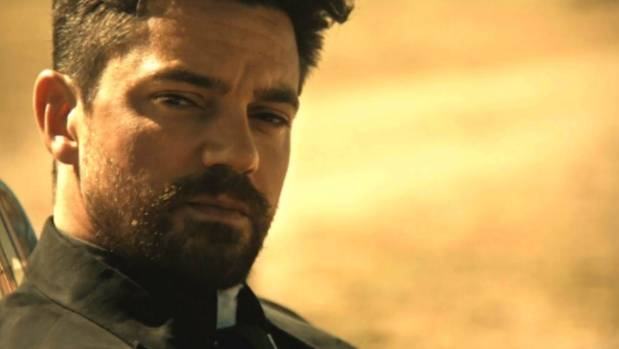Acclaimed comic book PREACHER makes it way to television care of AMC, the network who brought you The Walking Dead.