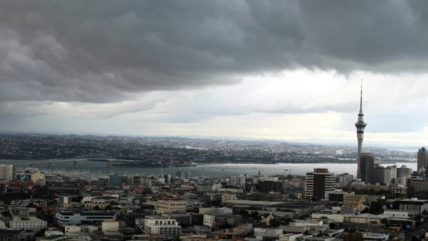 Auckland, and most of the country, brace for a wet Friday night.