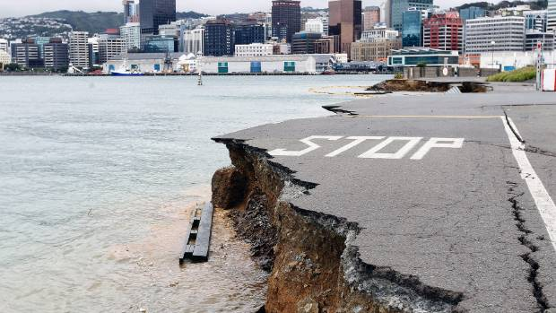The threat of another big earthquake looms large over Wellington.