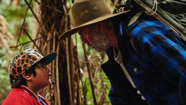 Ricky (Julian Dennison) and Hec (Sam Neill) go head to head in the wild NZ bush.