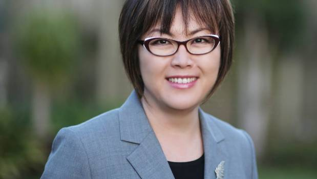 "National MP Melissa Lee said Ron Mark's comments were ""totally, utterly inappropriate""."