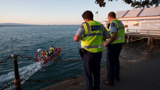 Police and rescue services search for someone reported to be seen waving for help at Port Nelson. The struggling swimmer ...