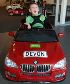 Gobabygo And Bmw Give Electric Toy Cars To Children With