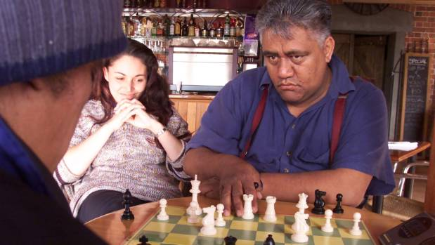 The shadow of late chess champion Genesis Potini, seen here in 2002, looms large over Nuhaka school.