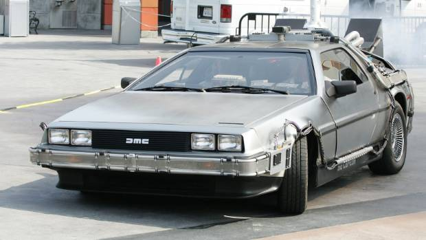 Man driving DeLorean gets caught speeding. Guess how fast he was going