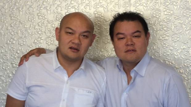 Michael Chow, left, and brother John received approval on Friday for the reverse take-over of listed shell company RIS Group.