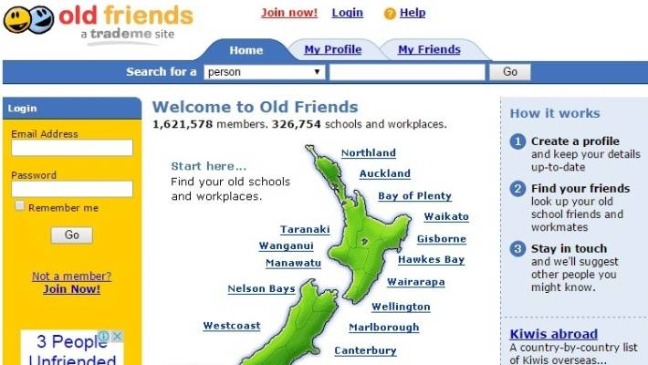 Websites to find friends in your area