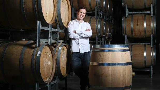 Wine Grenade chief executive Hamish Elmslie says his device will save winemakers time and money.