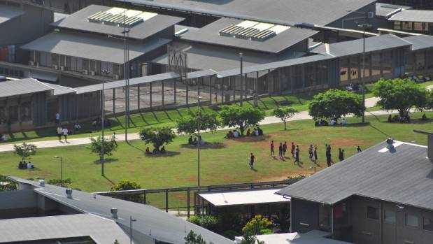 """Kiwi mobs have been """"bashing"""" other detainees and stealing cellphones, according to one asylum-seeker."""