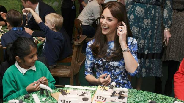The Duchess of Cambridge in the offending outfit.