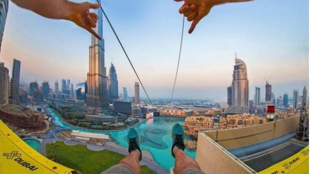 Ihram Kids For Sale Dubai: Urban Zipline Added To Dubai's Collection Of Epic