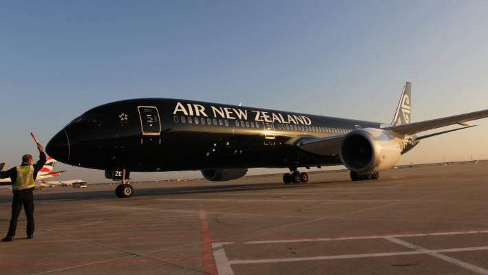 Air NZ flight turned back from China