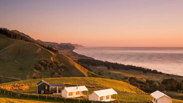 C& Kekerengu is at Ngaio Downs farm owned by Simon and Pip Toddhunter. & Canopy Campingu0027s Kekerengu site: Glamping in style | Stuff.co.nz