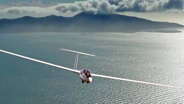 Scenes such as this Wellington Gliding Club craft soaring over Kapiti could become rarer when the club moves operations ...