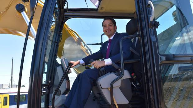 Transport Minister Simon Bridges finds a Kaimai connection compelling.