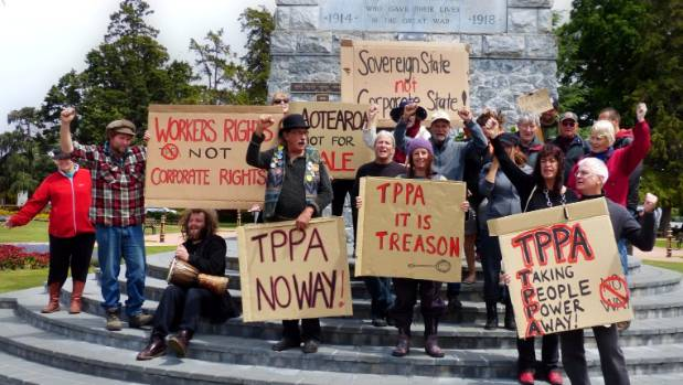 Critics of the TPPA have expressed concerns about whether the deal will undermine New Zealand's sovereignty.