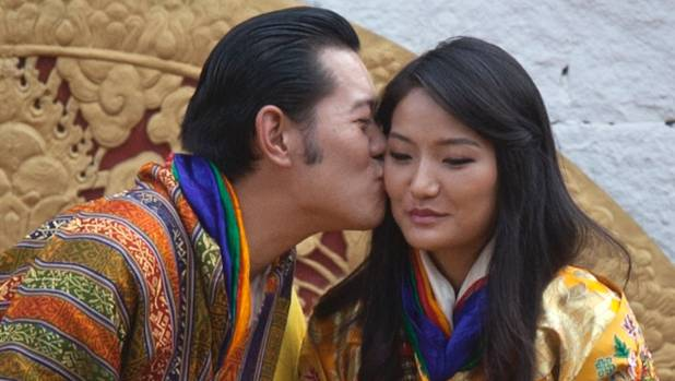 Image result for Queen king photo of Bhutan