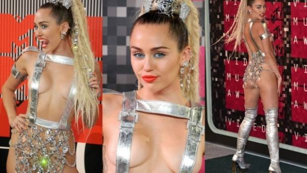 Miley Cyrus has courted publicity with a series of outrageous outfits and antics.