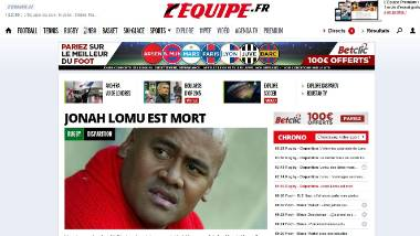 How Jonah Lomu's death was reported by media around the world