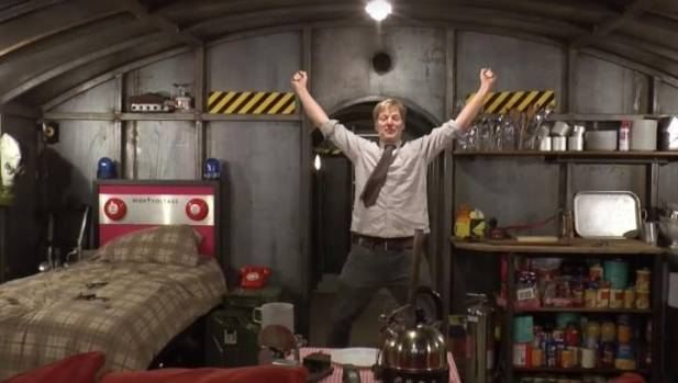 Plumber Builds Amazing Post Apocalyptic Bunker In His