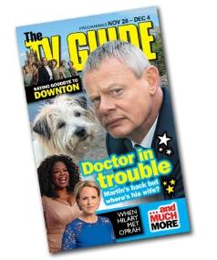 TV Guide is new in stores every Thursday.