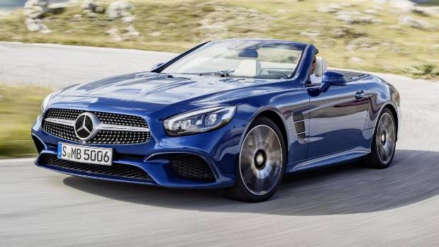 b98fd8a9dd Mercedes-Benz SL Roadster gets more power