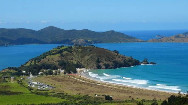 The breathtaking Matauri Bay, north of Kerikeri.