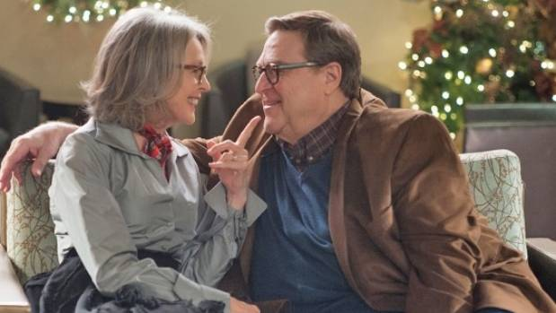 Diane Keaton and John Goodman are just two of the starry cast on show in Love the Coopers.