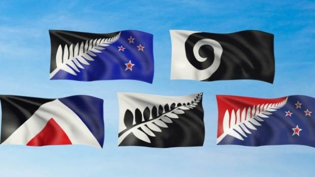 The referendum to choose which alternative flag will go up against the current flag is now under way.