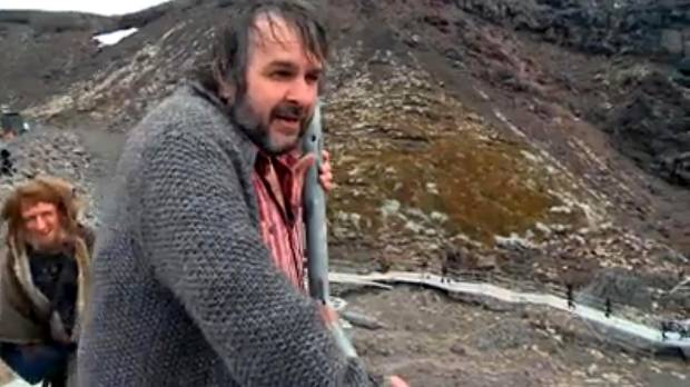 Filming of the Hobbit trilogy went around New Zealand, including the slopes of Mt Ruapehu, where Sir Peter Jackson ...
