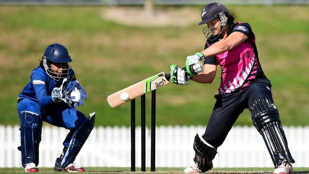 Captain Suzie Bates topscored with 69 runs in the White Ferns' innings of 114 for 7.