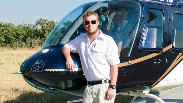 Helicopter pilot Mitch Gameren died alongside six tourists in the glacier crash in November 2015.
