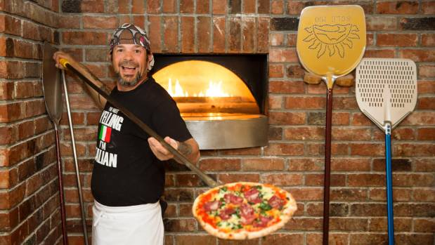 Pizzaria king Stefano Bonazza will offer tips on topping the perfect pizza for one auction winner.