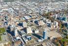 An aerial view of Christchurch's city centre taken in May this year.