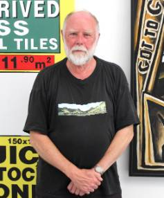 Renowned New Zealand art collector Warwick Brown.