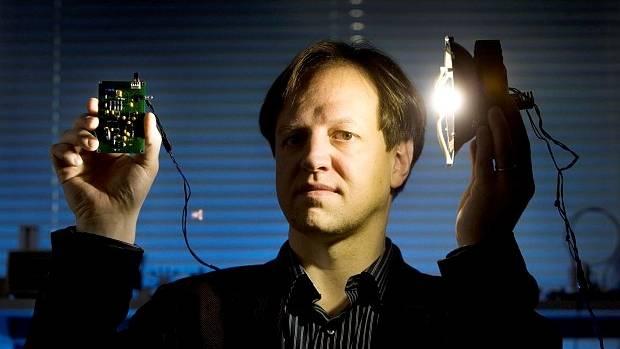 Harald Haas invented li-fi in 2011.